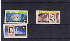 VIETNAM North 1964 SPACE Stamps IMPERF Set 3v UNMOUNTED MINT SG.N299-301 Re:Z158