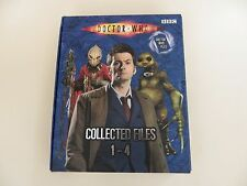 Doctor Who Collected Files 1-4, Box Set of 4 Books.