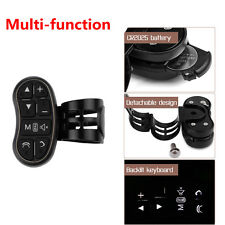 1pcs Wireless Car Steering Wheel Button Remote Car Stereo DVD GPS Controller Key
