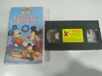 Una Navidad con Mickey Walt Disney Mickey - VHS Cinta Tape Español