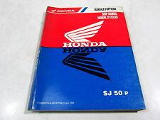 REVUE MANUEL ATELIER HONDA SJ 50 P 1993 67GAVA10