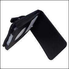 Black PU Leder Tasche für Apple iPod Video & classic  Schutz Hülle Case Etui