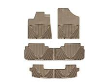 WeatherTech All-Weather Floor Mats for Toyota Highlander Hybrid 08-13 - Tan