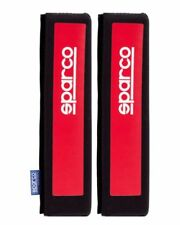 Sparco SEATBELT Harness Shoulder PADS Tuning Black/Red UNIVERSAL FREE DELIVERY