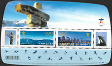 Canada Stamps - Souvenir Sheet - Vancouver 2010, Olympic Winter Games #2366 -MNH