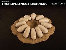 REBOR Dinosaur Collectables Theropod Nest Diorama (non-scale)