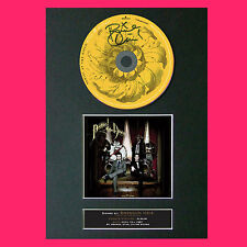 More details for panic at the disco virtues & vices album signed cd mounted a4 autograph print 71
