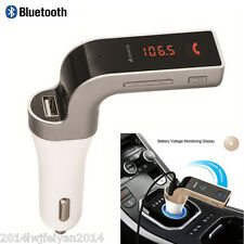 Car Kit Wireless Bluetooth FM Transmitter USB Charger MP3 Music Player Handsfree