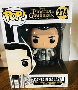 Disney Pirates Of The Caribbean Captian Salazar  274 Pop Funko Vinyl Figure NEW