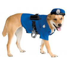 Police Dog Cop Pet Costume size Small