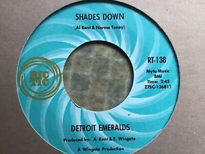 Shades Down - Detroit Emeralds (USA Ric-Tic)