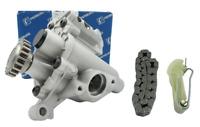 06H 115 105DE OEM Oil Pump Set w Tensioner&Chain For Audi A4 Q3 Q5 VW 1.8T 2.0T
