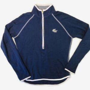 Peter Millar 1/2 Zip Pullover GW Georgetown Womens XS Blue