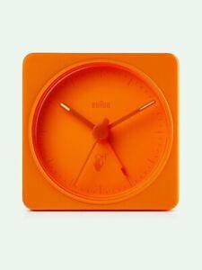 Off White Braun Travel Compact Clock Limited Virgil Abloh Bc02 Quartz Watch