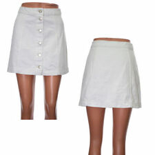Denim Short/Mini Casual Petite Skirts for Women