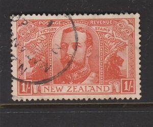 1920 NEW ZEALAND 1/- Victory Sg 458 VFU CV £50