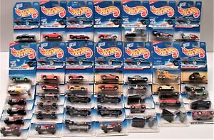 Hot Wheels 1996 1997 1998 First Editions Lot of 45 Firebird Ford Dodge Chevy New