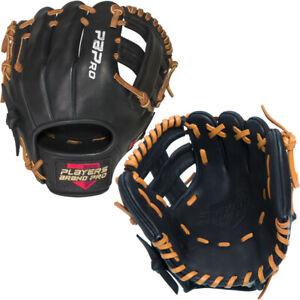 "PBPRO 9.5"" Infield Baseball Trainer Professional Training Glove Single Post Web"