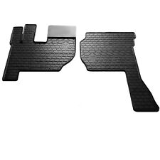 Volvo FH 2002- Rubber Carmats All Weather Fully Tailored Truck Floor Mats Black