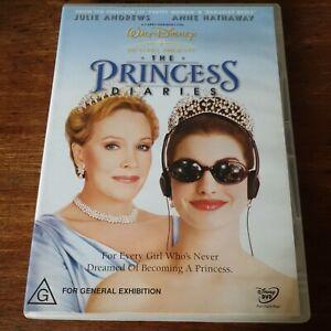 The Princess Diaries DVD R4 Like New! FREE POST