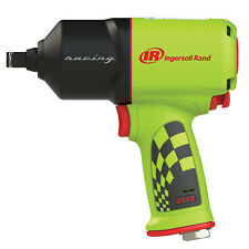 "Ingersoll Rand 1/2"" dr Quiet Air Impact Wrench Special Edition Green! 2135QXPR-G"