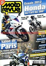 MOTO REVUE 3920 HONDA CBR 1000 RR NC 700 X MAGNY COURS Casey STONER DAKAR 2012