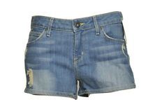 Rich & Skinny Distressed Torn Shorts Denim Pants Winter Lake 26 New $135