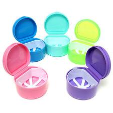1Pc boîte de prothèse dentaire petits accessoires rangement propre vieillard