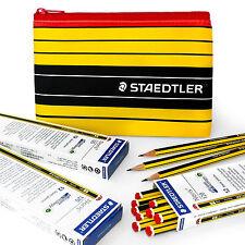 Staedtler Noris - 120 - 36 x HB Lápices de Grafito Premium escolar y estuche