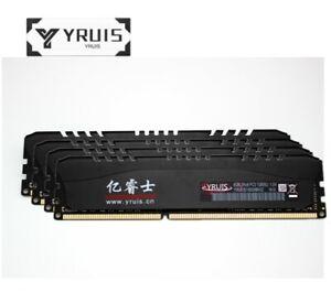 YRUIS 32GB 4X8GB PC3-12800 DDR3-1600MHz 240pin CL11 1.5V DIMM Desktop Memory ZJL