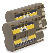 2x Baterias BP-511 para Canon EOS 5D 10D 20D 30D 40D 50D 300D Rebel