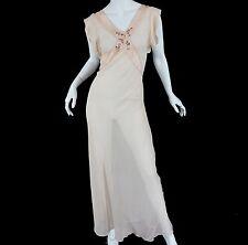 carson pirie scott vintage Silk lingerie Gown Antique France