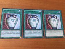 Yu-Gi-Oh BP02-EN160/HSRD-EN056 3x POT OF DUALITY - Black Rare 1st Edition, Mint!