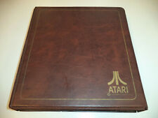 Atari Video Game Library Binder Organizer for Cartridge Collections 2600 VCS