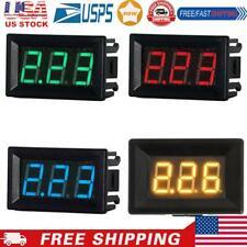 Mini 056in Led Digital Display Dc 0 10a Ammeter Current Amp Panel Meter