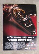 KAWASAKI VN1500 VULCAN CLASSIC - Motorcycle Magazine Page Advertisement Brochure