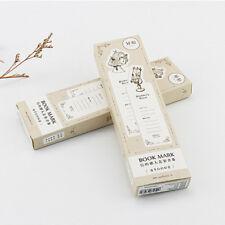 30pc/Box Pandora's Secret Bookmark Book Mark Magazine Note Label Stationery Gift