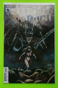 Aliens Vampirella Issue #1 Dynamite Dark Horse Comic Book '15