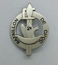 Insigne métal du 2ème bataillon de choc para 1944-45  - Refrappe de qualité