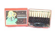 Alte DDR Lichterkette Beleuchtung Kerzen Baumbeleuchtung Weihnachten Lichtkette