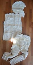 Pottery Barn Kids Ivory Mummy Halloween Costume Size 11 - 12 Yrs #17