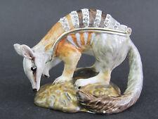 Numbat Diamanti Decorated Jewelled Trinket Box or Figurine