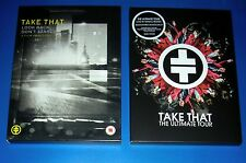TAKE THAT, Look Back Don´t Stare + The Ultimate Tour, Region 0 DVD, digipak