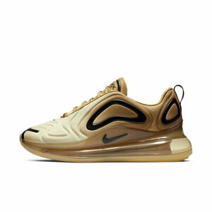 NIKE WOMENS AIR MAX 720 DEADSTOCK TRAINERS SHOES GOLD NEW AR9293 700 UK 4-5