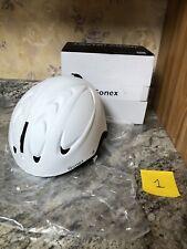 Gonex Ski Helmet Winter Snow Snowboard Skiing Helmet White Size Medium