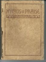 MA-135 Hymns of Praise Early 1900's, Hymnal, 286 Songs Kingsbury