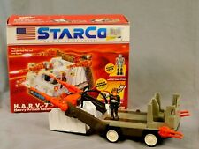 STARCOM H.A.R.V.-7 1987 W/BOX AND PAPERWORK COLECO