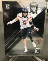 2017 Donruss Elite Collegiate Patrick Mahomes RC #145 Texas Tech KC Chiefs