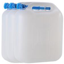 3x Wasserkanister ECO 22 Liter mit Rohr NEU 3er Set Camping-Kanister Wassertank