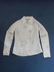 Austin Reed women's yellow-white floral cotton size S shirt